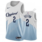 Maillot NBA Cleveland Cavaliers 2019-20 Collin Sexton 2# Blanc Earned Edition Swingman..