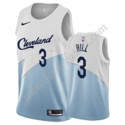 Maillot NBA Cleveland Cavaliers 2019-20 George Hill 3# Blanc Earned Edition Swingman..