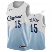 Maillot NBA Cleveland Cavaliers 2019-20 Sam Dekker 15# Blanc Earned Edition Swingman..
