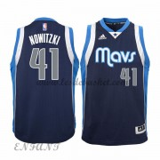 Maillot Basket Enfant Dallas Mavericks 2015-16 Dirk Nowitzki 41# Alternate