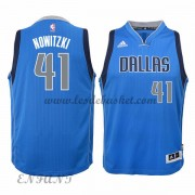 Maillot Basket Enfant Dallas Mavericks 2015-16 Dirk Nowitzki 41# Road..