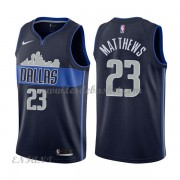Maillot Basket Enfant Dallas Mavericks 2018 Wesley Matthews 23# Statement Edition..