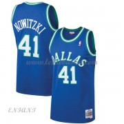 Maillot Basket Enfant Dallas Mavericks 1998-99 Dirk Nowitzki 41# Blue Hardwood Classics..