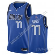 Maillot De Basket Enfant Dallas Mavericks 2019-20 Luka Doncic 77# Bleu Icon Edition Swingman..