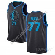 Maillot De Basket Enfant Dallas Mavericks 2019-20 Luka Doncic 77# City Edition Swingman..