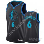 Maillot De Basket Enfant Dallas Mavericks 2019-20 Kristaps Porzingis 6# City Edition Swingman..