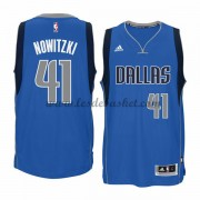 Maillot NBA Dallas Mavericks 2015-16 Dirk Nowitzki 41# Road..