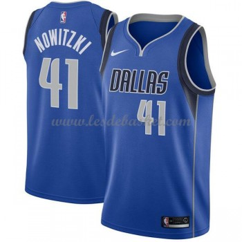 Maillot NBA Dallas Mavericks 2018 Dirk Nowitzki 41# Icon Edition