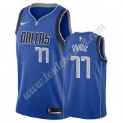 Maillot NBA Dallas Mavericks 2019-20 Luka Doncic 77# Bleu Icon Edition Swingman..