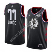 Maillot NBA Pas Cher Dallas Mavericks 2019 Luka Doncic 77# Noir All Star Game Swingman..