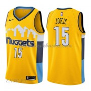 Maillot Basket Enfant Denver Nuggets 2018 Nikola Jokic 15# Statement Edition..
