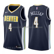 Maillot Basket Enfant Denver Nuggets 2018 Paul Millsap 4# Icon Edition..