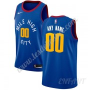Maillot De Basket Enfant Denver Nuggets 2019-20 Bleu Statement Edition Swingman..