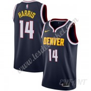 Maillot De Basket Enfant Denver Nuggets 2019-20 Gary Harris 14# Bleu Marine Icon Edition Swingman..