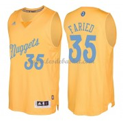 Maillot NBA Pas Cher Denver Nuggets 2016 Kenneth Faried 35# Noël Basket..