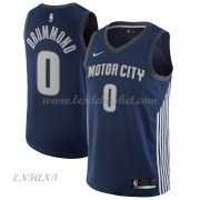 Maillot Basket Enfant Detroit Pistons 2018 Andre Drummond 0# City Edition..