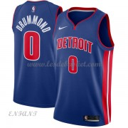Maillot Basket Enfant Detroit Pistons 2018 Andre Drummond 0# Icon Edition..