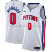 Maillot NBA Detroit Pistons 2018 Andre Drummond 0# Association Edition..