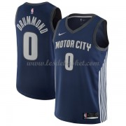 Maillot NBA Detroit Pistons 2018 Andre Drummond 0# City Edition..