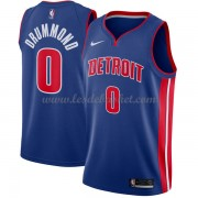 Maillot NBA Detroit Pistons 2018 Andre Drummond 0# Icon Edition..