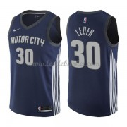 Maillot NBA Detroit Pistons 2018 Jon Leuer 30# City Edition..
