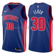Maillot NBA Detroit Pistons 2018 Jon Leuer 30# Icon Edition..