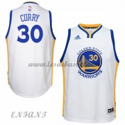 Maillot Basket NBA Golden State Warriors Enfant 2015-16 Stephen Curry 30# Home