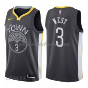 Maillot Basket Enfant Golden State Warriors 2018 David West 3# Statement Edition..