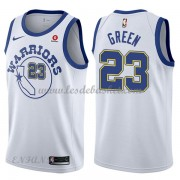 Maillot Basket Enfant Golden State Warriors 2018 Draymond Green 23# White Hardwood Classics..