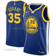 Maillot Basket Enfant Golden State Warriors 2018 Kevin Durant 35# Icon Edition..