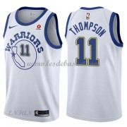 Maillot Basket Enfant Golden State Warriors 2018 Klay Thompson 11# White Hardwood Classics..