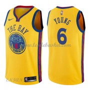 Maillot Basket Enfant Golden State Warriors 2018 Nick Young 6# City Edition..