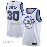 Maillot Basket Enfant Golden State Warriors 2018 Stephen Curry 30# White Hardwood Classics..