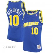 Maillot Basket Enfant Golden State Warriors 1990-91 Tim Hardaway 10# Blue Hardwood Classics..