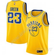 Maillot De Basket Enfant Golden State Warriors 2019-20 Draymond Green 23# Or Hardwood Classics Swing..