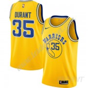 Maillot De Basket Enfant Golden State Warriors 2019-20 Kevin Durant 35# Or Hardwood Classics Swingma..