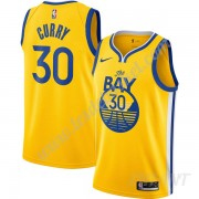 Maillot De Basket Enfant Golden State Warriors 2019-20 Stephen Curry 30# Or Finished Statement Editi..
