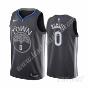 Maillot De Basket Enfant Golden State Warriors 2019-20 D'Angelo Russell 0# City Edition Swingman..