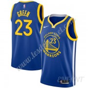 Maillot De Basket Enfant Golden State Warriors 2019-20 Draymond Green 23# Bleu Icon Edition Swingman..