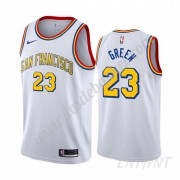 Maillot De Basket Enfant Golden State Warriors 2019-20 Draymond Green 23# Blanc Classics Edition Swi..