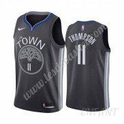 Maillot De Basket Enfant Golden State Warriors 2019-20 Klay Thompson 11# Noir City Edition Swingman..