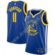 Maillot De Basket Enfant Golden State Warriors 2019-20 Klay Thompson 11# Bleu Icon Edition Swingman..