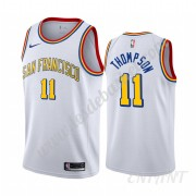 Maillot De Basket Enfant Golden State Warriors 2019-20 Klay Thompson 11# Blanc Classics Edition Swin..