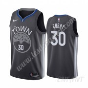 Maillot De Basket Enfant Golden State Warriors 2019-20 Stephen Curry 30# Noir City Edition Swingman..