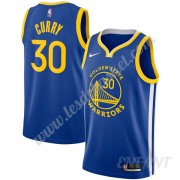 Maillot De Basket Enfant Golden State Warriors 2019-20 Stephen Curry 30# Bleu Icon Edition Swingman..