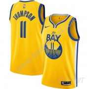 Maillot De Basket Enfant Golden State Warriors 2019-20 Klay Thompson 11# Or Finished Statement Editi..