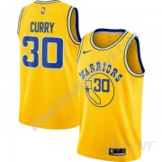 Maillot De Basket Enfant Golden State Warriors 2019-20 Stephen Curry 30# Or Hardwood Classics Swingm..