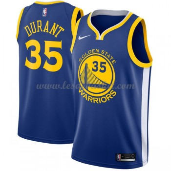 Maillot NBA Golden State Warriors 2018 Kevin Durant 35# Icon Edition