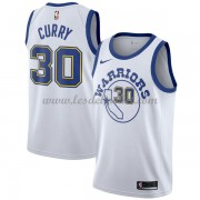 Maillot NBA Golden State Warriors 2018 Stephen Curry 30# White Hardwood Classics..