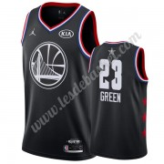 Maillot NBA Pas Cher Golden State Warriors 2019 Draymond Green 23# Noir All Star Game Swingman..